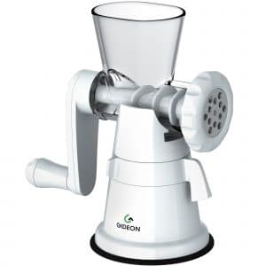 Gideon Hand Crank Manual Meat Grinder