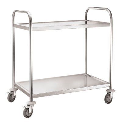 Service TrolService Trolley 2 Tier with Square Tube